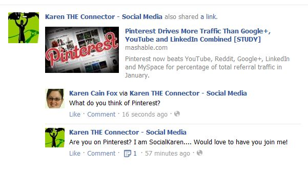 Facebook Personal Profile to Business - Karen The Connector