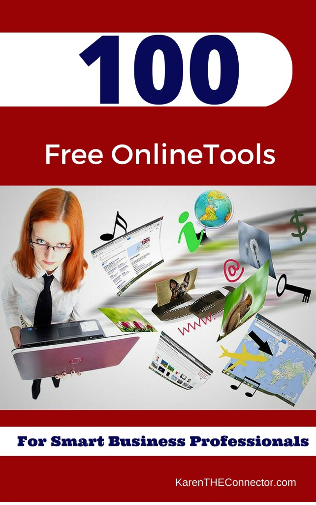 100 Free Tools Karen THE Connector