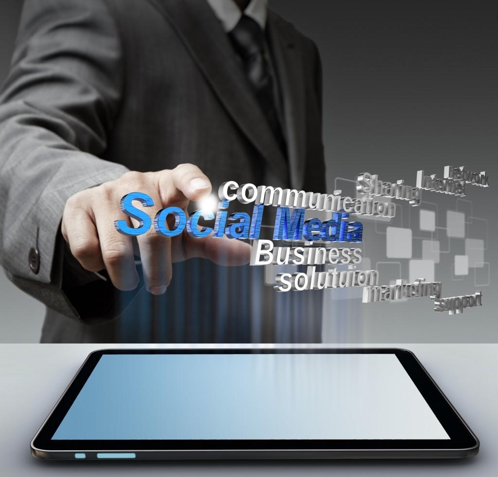 3d social media as concept